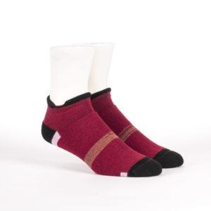 Short sporty alpaca socks