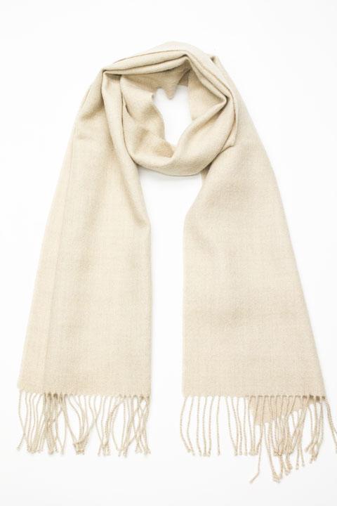 a870fb7897720 Solid color woven scarf in alpaca - Alpagas Chelsea
