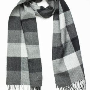 Buffalo woven alpaca scarf