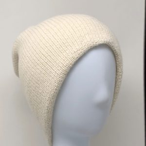 Men`s Double Knit English Alpaca Hat