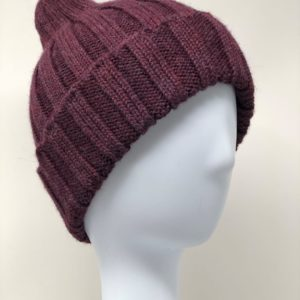 Accordion style alpaca hat