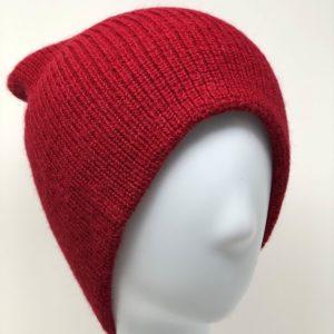 Women`s Double Knit English Alpaca Hat