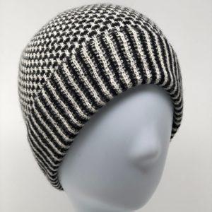 Honeycomb Baby Alpaca Hat