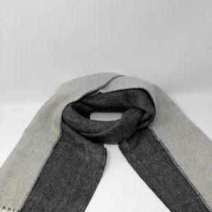 Woven and Brushed Double Face Baby Alpaca Scarf