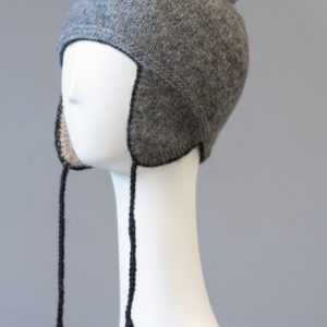 Hand made alpaca andean hat - double and reversible