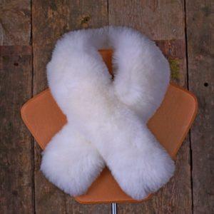 Alpaca fur scarf